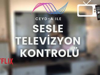 Sesle Televizyon Kontrolu